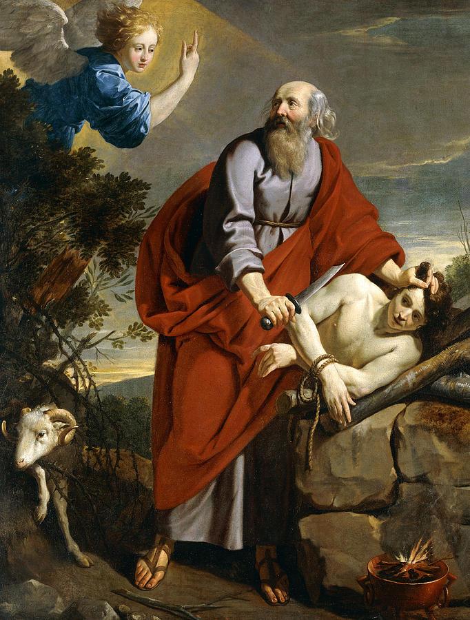 Abraham uhraamassa poikaansa